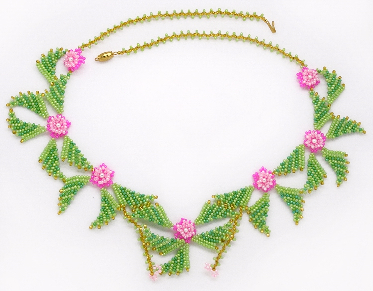 Necklace В«Cheerful flowersВ»